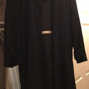 Liz Claiborne black over coat